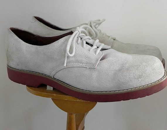 white bucks - white buckskin shoes that became popular in the 1950s because of singer Pat Boone