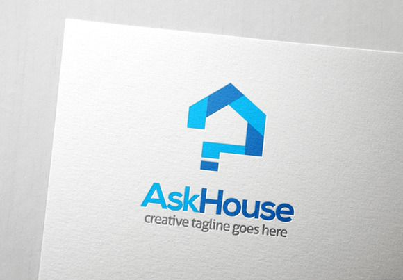 Check out Ask House Logo by Slim Studio on Creative Market
