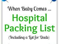 C-Section Hospital Bag Packing List