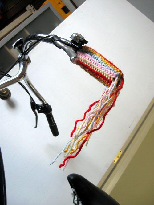 crochet bike streamers
