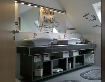 16 besten bad oben bilder auf pinterest badezimmer badezimmerideen und badewannen. Black Bedroom Furniture Sets. Home Design Ideas