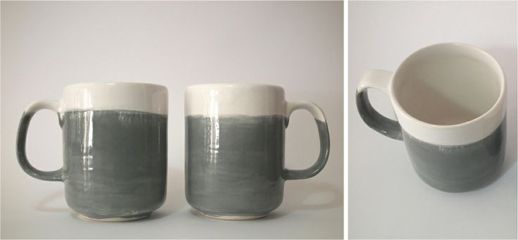 Dipped mug (small 70mm diameter x 90mm high)