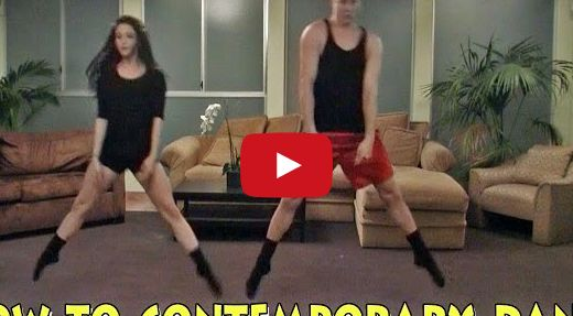 """How to Contemporary Dance (Tastefully Offensive) - Eric Wilkerson, aka """"Contemporary Eric"""", and his assistant demonstrate 15 easy to learn contemporary dance moves."""