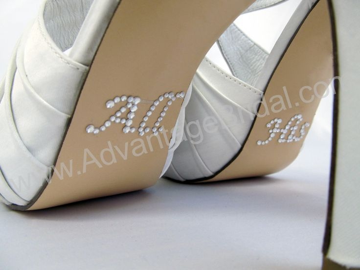 All His Shoe Decals For The Bride