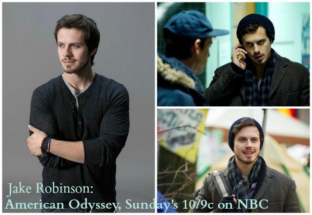 American Odyssey Q&A with Jake Robinson #NBC #AmericanOdyssey | Five Dollar Shake
