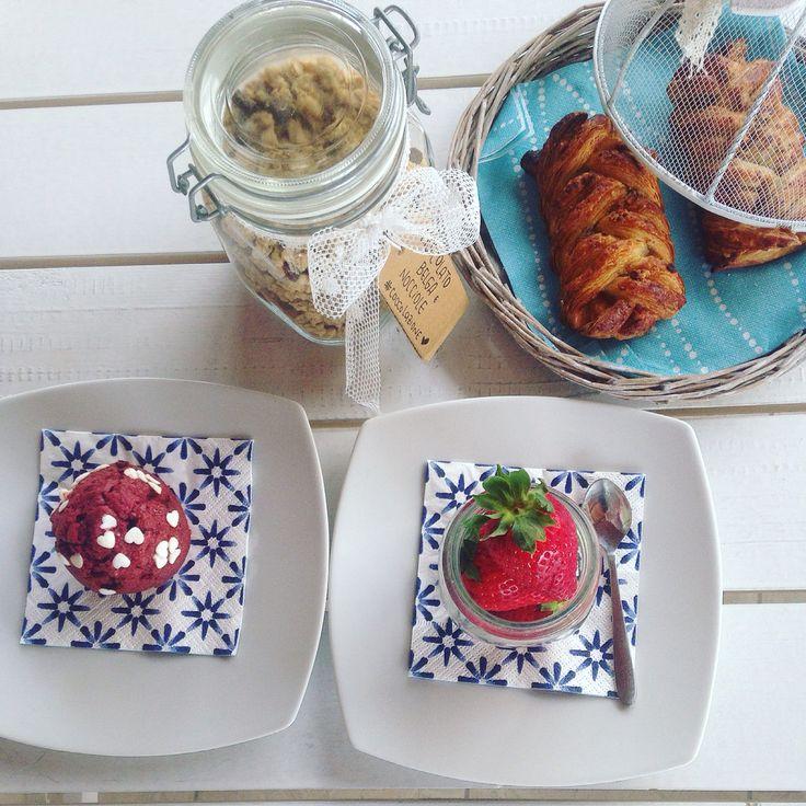 Lovely breakfast  #mywork #bagnorosa22 #breakfast #italianbreakast #colazione #coccolazione