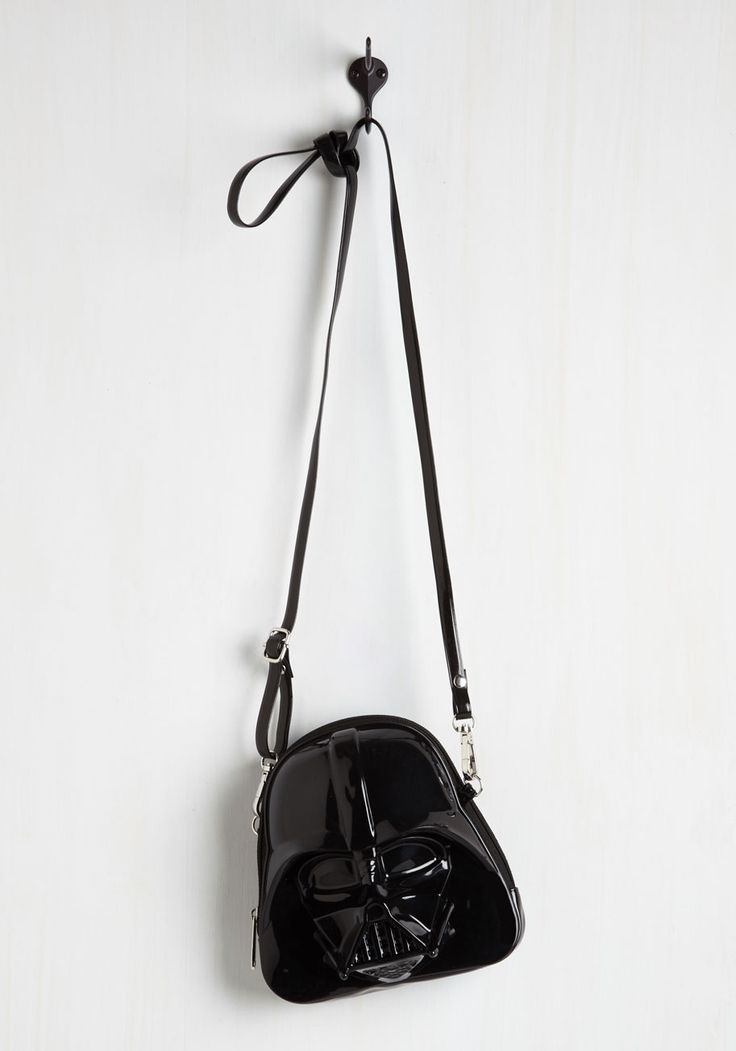Darth Side of the Swoon Bag. Your love for this Star Wars purse is a Force to be reckoned with! #black #modcloth
