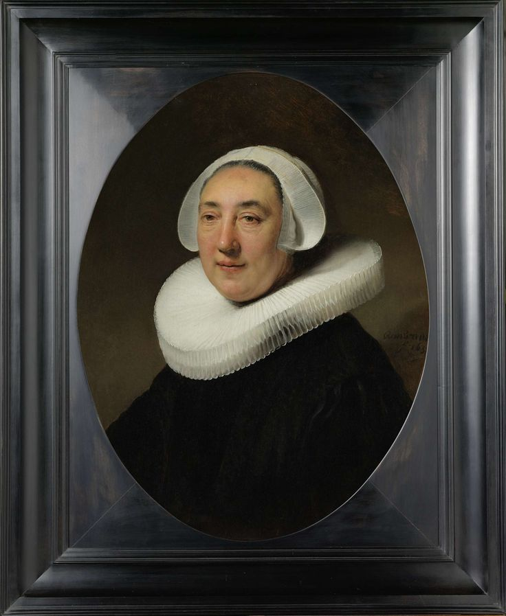 Portrait of Haesje Jacobsdr van Cleyburg, Rembrandt Harmensz. van Rijn, 1634