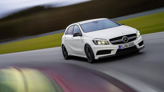 The 2014 Mercedes A45 AMG is the Ultimate Hot Hatch that We'll Never See.