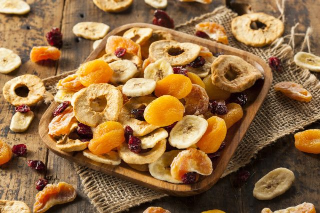 Jak sušit ovoce, sušené ovoce