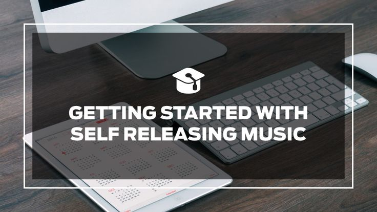 Free online course. Getting Started With How To Self Release Your Music.