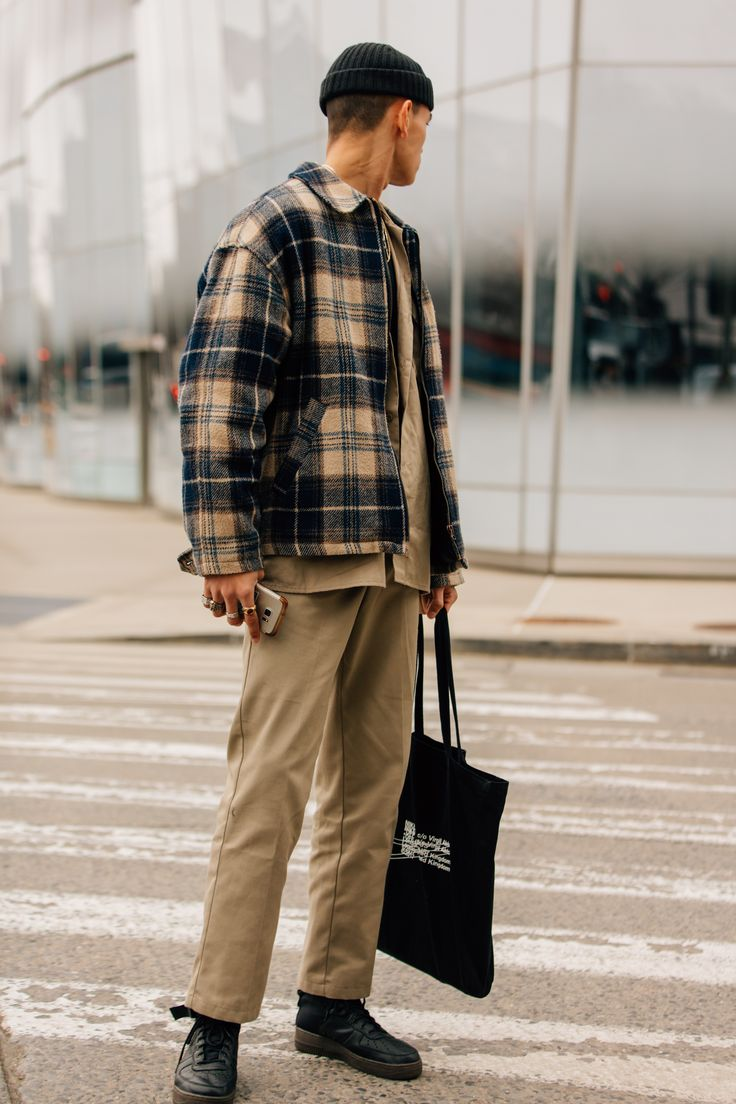 The Greatest Males's Avenue Fashion from New York Vogue Week