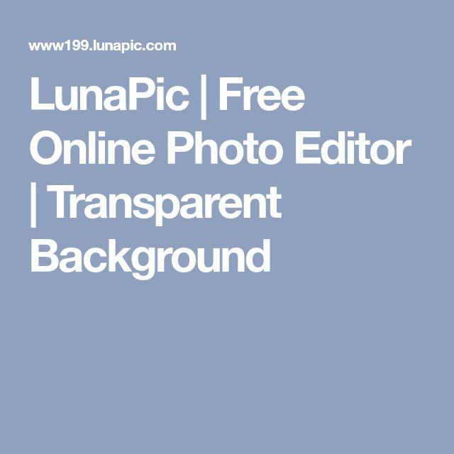 LunaPic   Free Online Photo Editor   Transparent Background