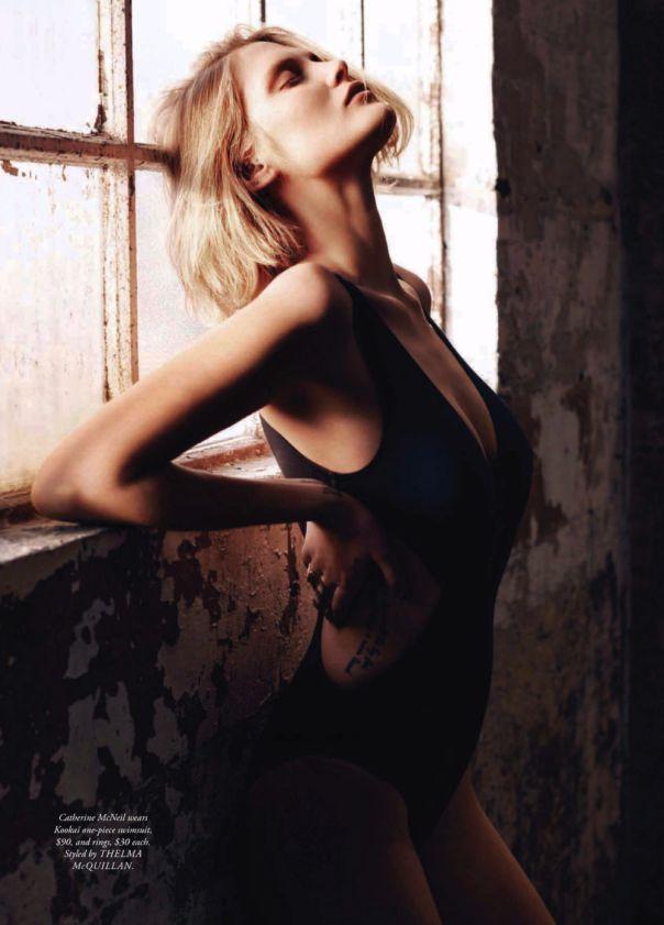 Catherine Mcneil by Kane Skennar for Harper's Bazaar Australia November 2013