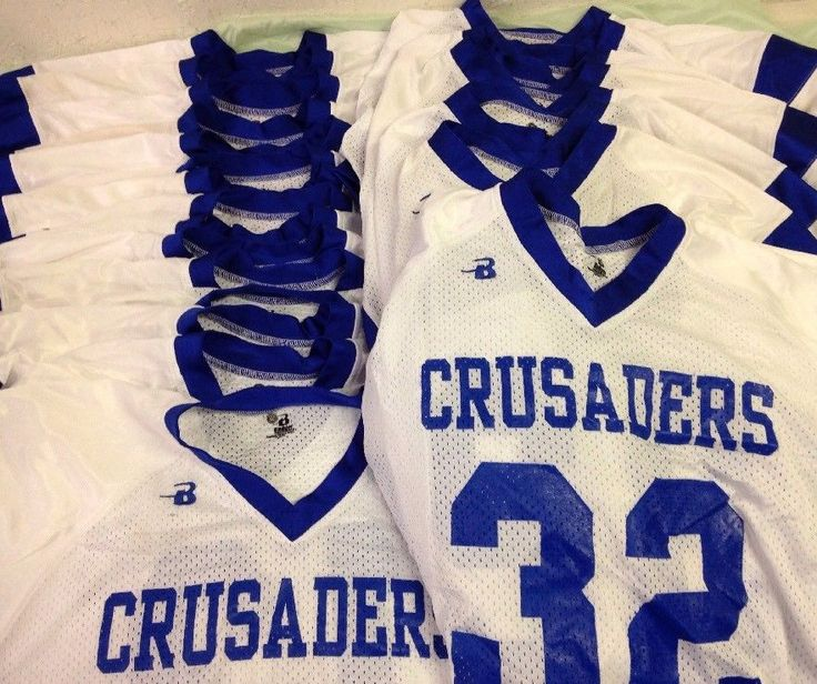 Youth Football Jersey Size Youth Extra Large Lot Of 23 Crusader Jerseys YXL #BadgerSports #Shirt