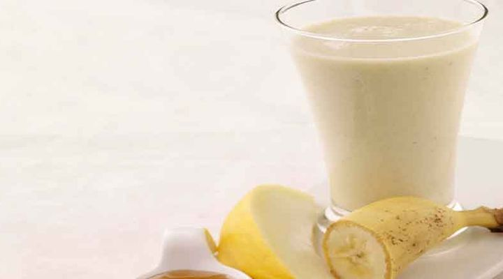 Pear, Cinnamon, Ginger and Oat Smoothie