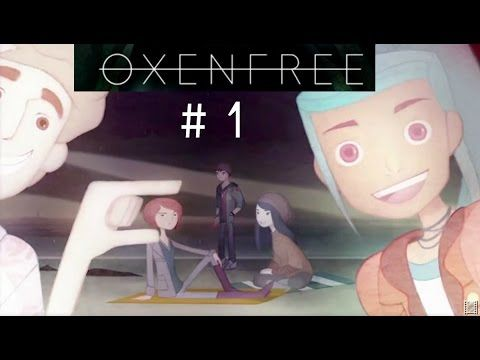 Oxenfree - Part 1   TRUTH OR SLAP! (Let's Play w/ Tayo) Tayo plays Oxenfree