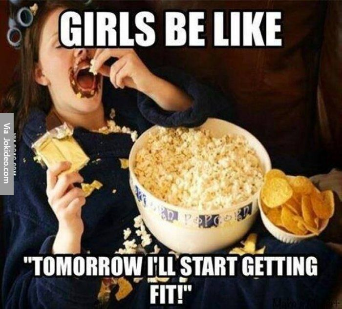 Girls be like - meme - http://www.jokideo.com/