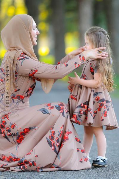 Little Autumn Cherry Dress