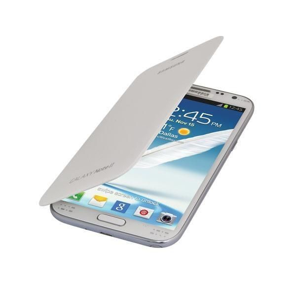 Samsung Galaxy Note II Flip Cover - White