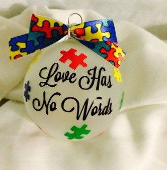 Hey, I found this really awesome Etsy listing at https://www.etsy.com/listing/199050374/love-has-no-words-autism-awareness