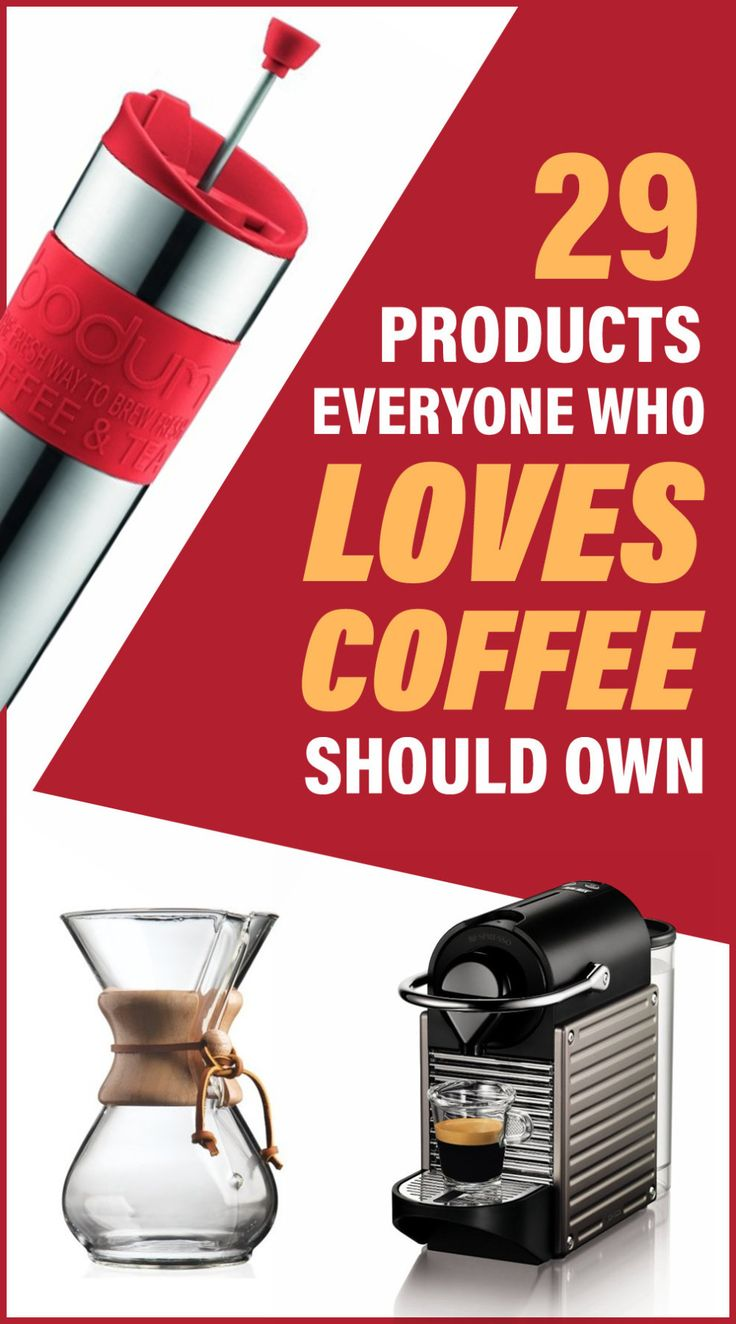 29 Awesome Coffee Products That You'll Wish You Knew About Sooner