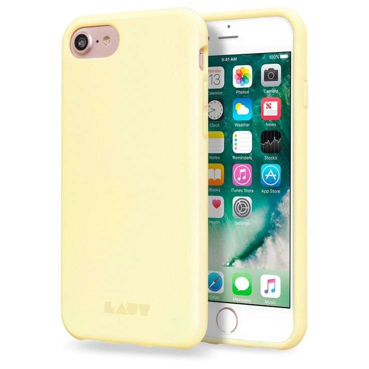 iPhone 7 Case - Laut Huex Pastel - Sherbet, Pastel Yellow