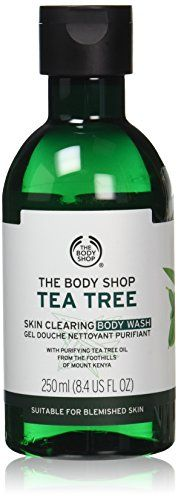 The Body Shop Tea Tree Body Wash, 8.4-Fluid Ounce The Bod…  debatable