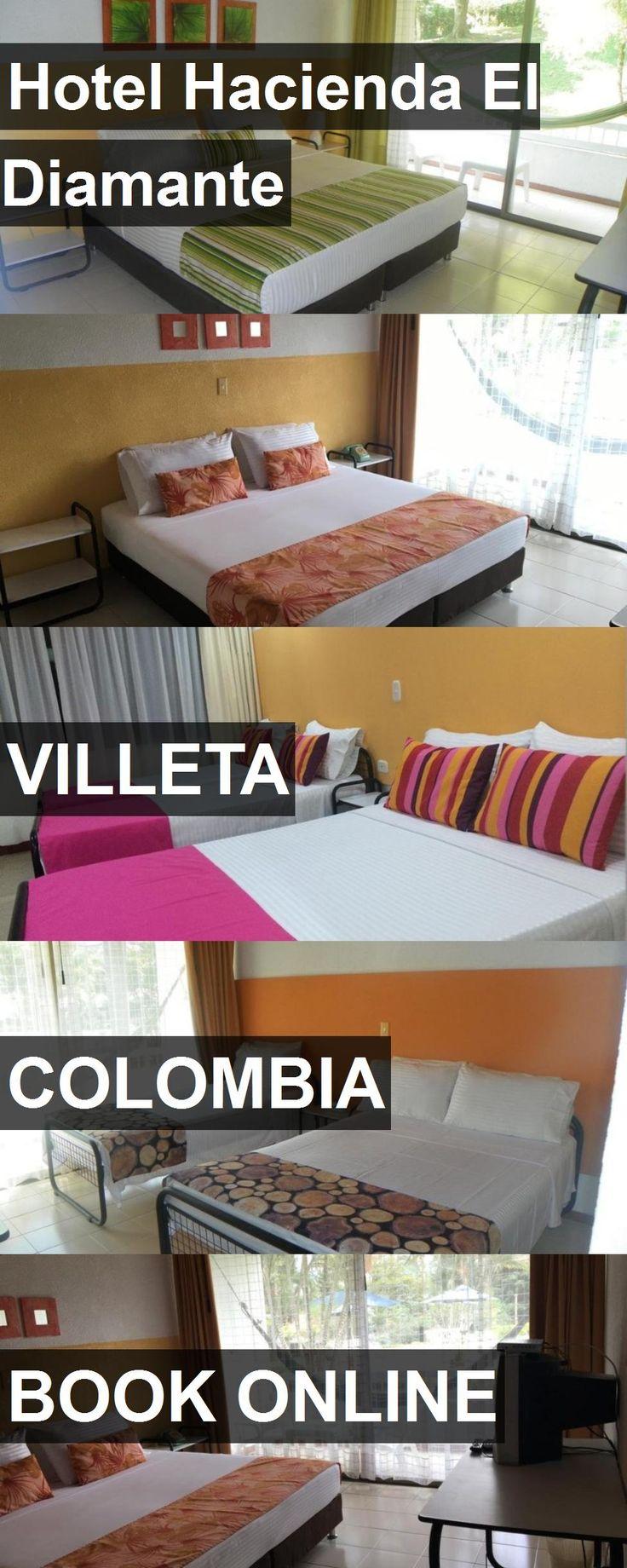 Hotel Hacienda El Diamante in Villeta, Colombia. For more information, photos, reviews and best prices please follow the link. #Colombia #Villeta #travel #vacation #hotel