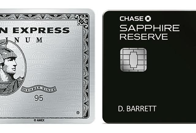 AmEx Platinum Vs. Chase Sapphire Reserve Travel Credit Cards