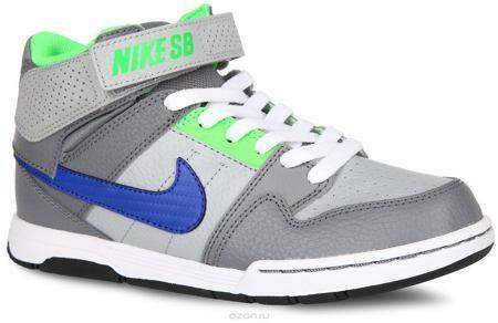 Nike Кроссовки  — 2431.8р. ------------------------------------- Стильные кроссовки Mogan Mid 2 Jr B от Nike подходят для занятий в зале или для катания на скейтборде. Модель, выполненная из натуральной и искусственной кожи, дополнена вставками из текстиля. Кроссовки оформлены перфорацией, по бокам - логотипом бренда, на язычке и на ремешке - названием бренда. Классическая шнуровка и ремешок с застежкой-липучкой надежно фиксирует модель на ноге. Подкладка из текстиля и стелька из EVA с…