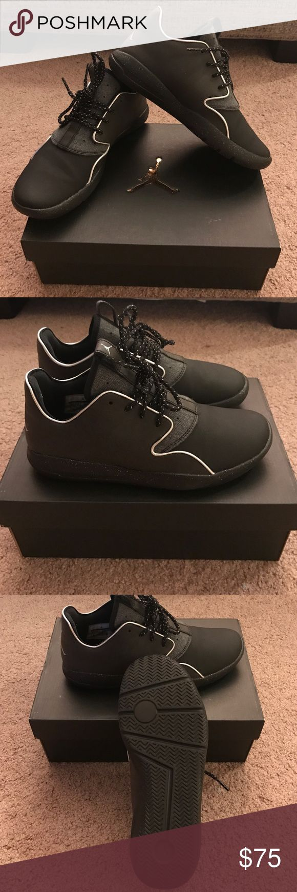 Jordan Eclipse Holiday BG Size 6Youth (7.5) Jordan Eclipse Holiday BG Size 6 youth. If you wear a women's 7.5, you would wear a youth 6. Youth sizes run as large as a 7, so anything up to an 8.5 falls within the women's/kid's overlap. I wear a size 7.5 and these fit me perfectly. Only worn once! I'm sad to part with these, but I'm trying to make room for other items. Originally purchased for $95.00 Jordan Shoes Athletic Shoes