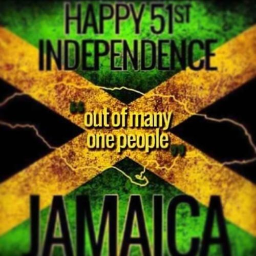 jamaican independence day... out of many one people