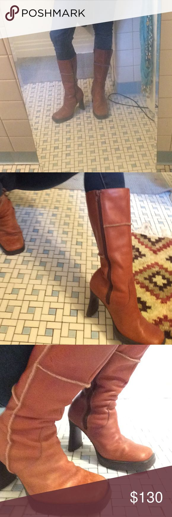 Seychelles Boots Very 70s feel Seychelles boots. Size 6- very expensive boot and I'm not sure if I want to sell... but still open to offers Seychelles Shoes Heeled Boots