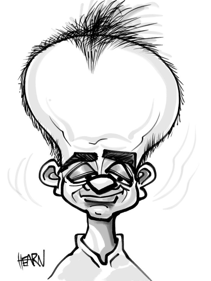 Funny Pencil Sketches | Drawing a funny head!