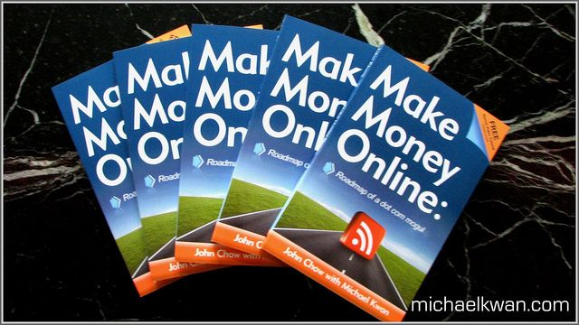 michaelkwan.com - Want to know how to make money blogging? You'll want to read this book. Buy it at Amazon.     Great ideas