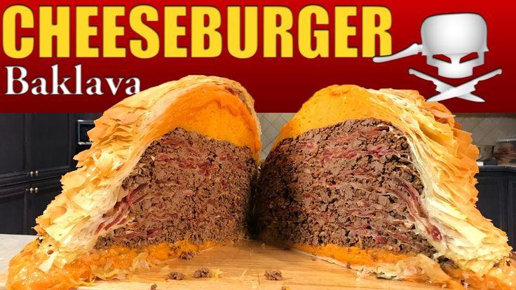 Cheeseburger Baklava - Epic Meal Time