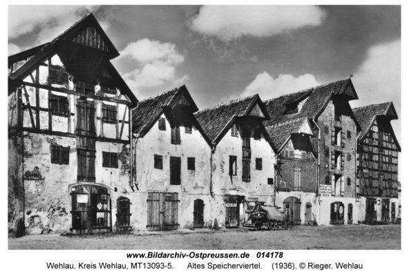 Wehlau / Ostpreußen     Altes Speicherviertel 1936