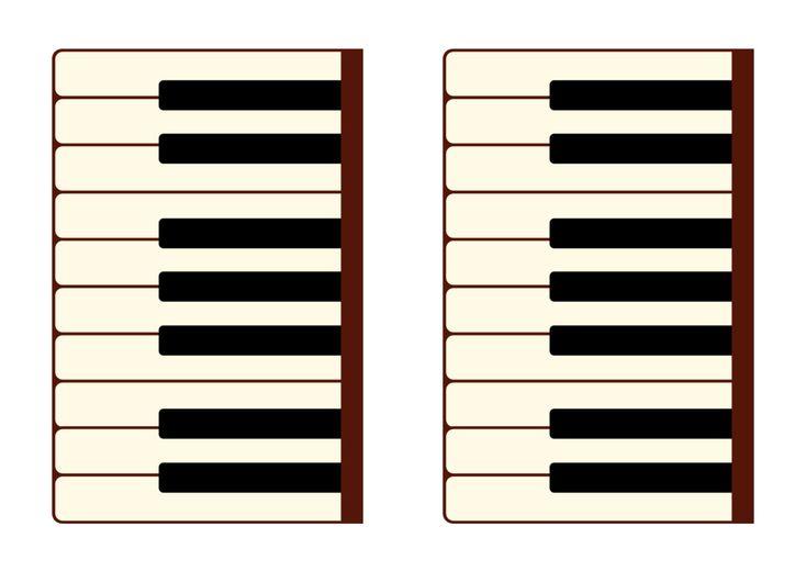 Клавиатура пианино
