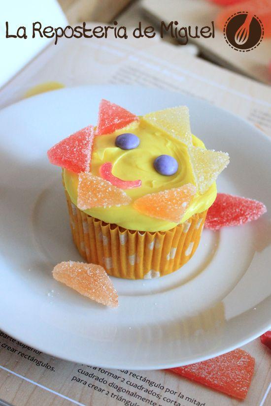 Cupcakes Señor Sol | La Repostería de Miguel