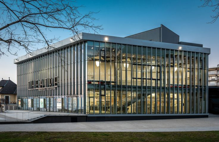 The renovation of the Theatre Maurice Novarina in Thonon-les-Bains by the city commenced in 2012 and it was completed with the inauguration of the building on the 10th of January 2015. This project has mobilized nearly 150 people of various backgrounds...