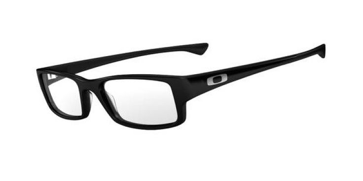 Oakley Glasses Servo Polished Black OX1066-01 51 is designed for men and the frame is black. This style has a small - 51mm lens diameter. The bridge size for this model is 18mm land the side length is standard. This adult designer prescription glasses model is a plastic, rectangle shape.