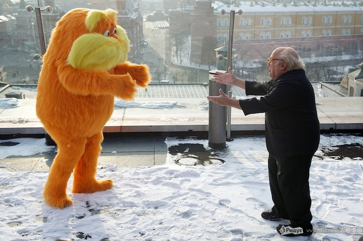 Danny DeVito in Moscow, Russia