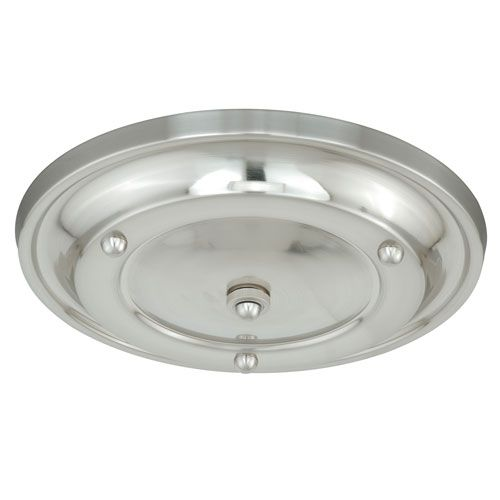 Polished Nickel Multiple Pendant Small Canopy Kit