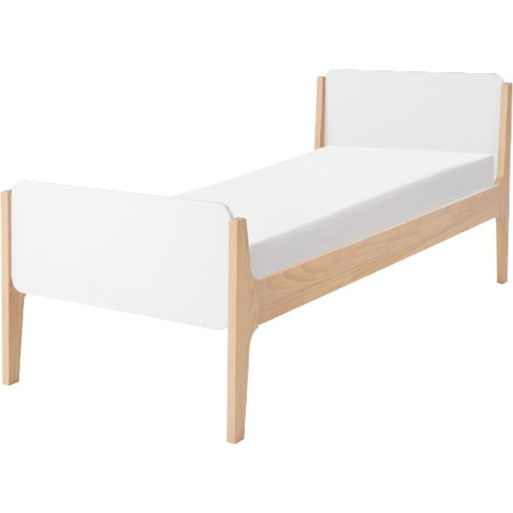 Linus Single Bed, Pine and White from Made.com. Express delivery. Parents, a little heads up: there may be some sleepover envy from now on. And it's..