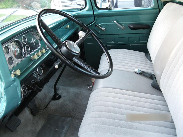 1959 Ford F 100 Pickup Interior 174520 Ford