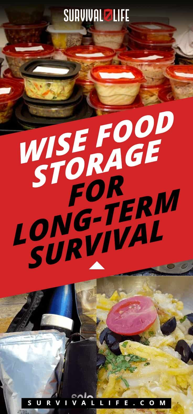 Wise Food Storage For Long-Term Survival | Posted by: SurvivalofthePrepped.com