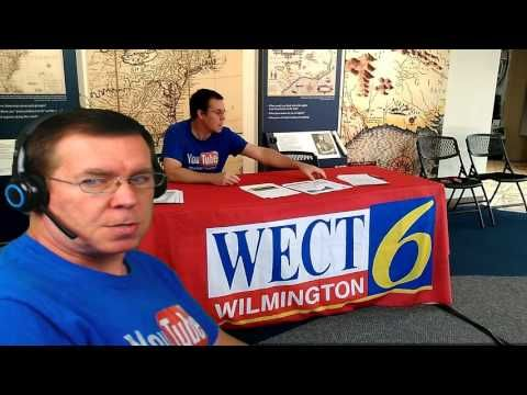 Working With One Of The Local TV Stations | WECT TV6 #wectwx I love helping the public to be more informed of bad weather that is on its way. Vlog - 098 ♥MY ...