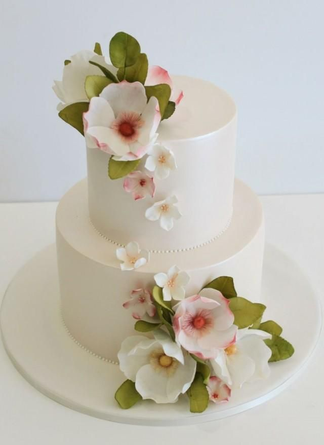 Beautifull flower cake