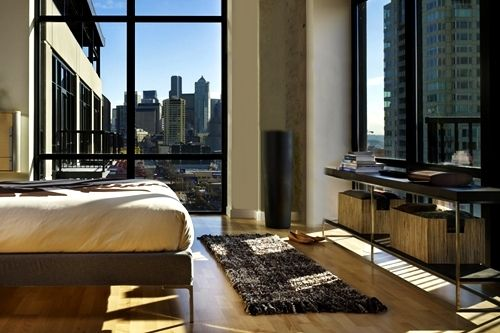 i wanna live in a place like this one day with views of big buildings & the city when i wake up.